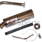 Gy6 Motorcycle Bike Parts Performance Stainless Steel Exhaust Muffler Pipe 50cc