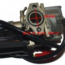 Scooter Moped Carburetor Carb For KYMCO Super 8 9 Vitality 50 2T Motor 50cc Part