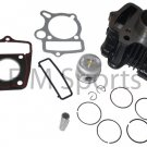 Dirt Pit Bike Engine Motor Cylinder Kit w Piston Rings 49cc 50cc BAJA DR49 DR50