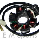 Gas Chinese Gy6 Scooter Moped Bike Stator Magneto 125cc 150cc Motor Parts 6 Pole