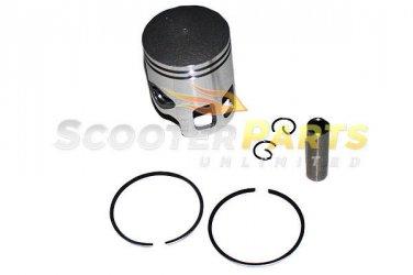 Piston Kit Rings 2 Stroke 50CC Eton Atv Quad RXL-50 TXL-50 Viper Impluse Thunder