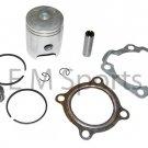 80cc Dirt Pit Bike Engine Motor Piston Kit w Rings For Yamaha PW80 1998-2003