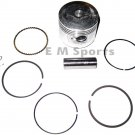 Chinese 49cc 50cc Dirt Pit Bike Piston Kit w Rings 39mm Engine Motor Parts