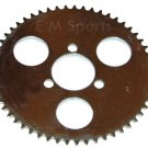 Chinese Mini Pocket Bike Parts HP Performance Rear Sprocket 55 Tooth 47cc 49cc .