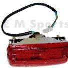 4 Stroke Atv Quad Go Kart 4 Wheeler Rear Tail Light Blinker Parts Red