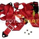 150 200cc 250cc Go Kart Buggy UTV Seat Saftey Belt Harness TAOTAO ROKETA BMS RED