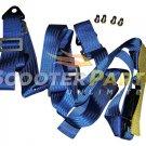 150 200cc 250cc Go Kart Buggy UTV Seat Saftey Belt Harness TAOTAO ROKETA BMS BLU