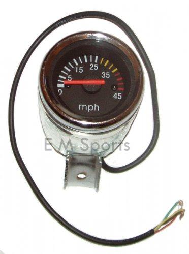 Super Mini Pocket Bike Parts Guage Speedometer 43 49cc
