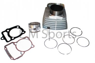 Gas China Chinese Scooter Moped 200cc Engine Cylinder Piston Parts 63.5mm