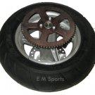 Mini Pocket Bike Parts Rear Tire Wheel Rim 110 50 6.5 MX-3 GP-RSR Giovanni