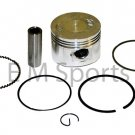 Gy6 Scooter Moped Bike Motorcycle Cylinder 80cc Engine Piston Kit Rings 47MM