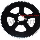 Chinese Mini Pocket Bike Parts HP Performance Rear Sprocket 80 Tooth 47cc 49cc