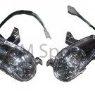 Atv Quad Front Head Lights Lamp Headlights Headlight Parts 110cc Coolster