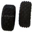 """Go Kart Buggie Atv Quad 4 Wheeler Front Rear Tire Wheel 145 70 6 for 6"""" Rims"""