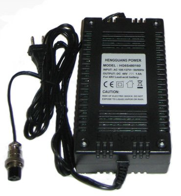 Electric E Gas Scooter Super Bike 48 Volt Battery Charger Parts