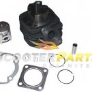 Cylinder Piston Kit Part For 49cc 50cc Scooter Mopeds Kymco ZX 50 Super Fever 50