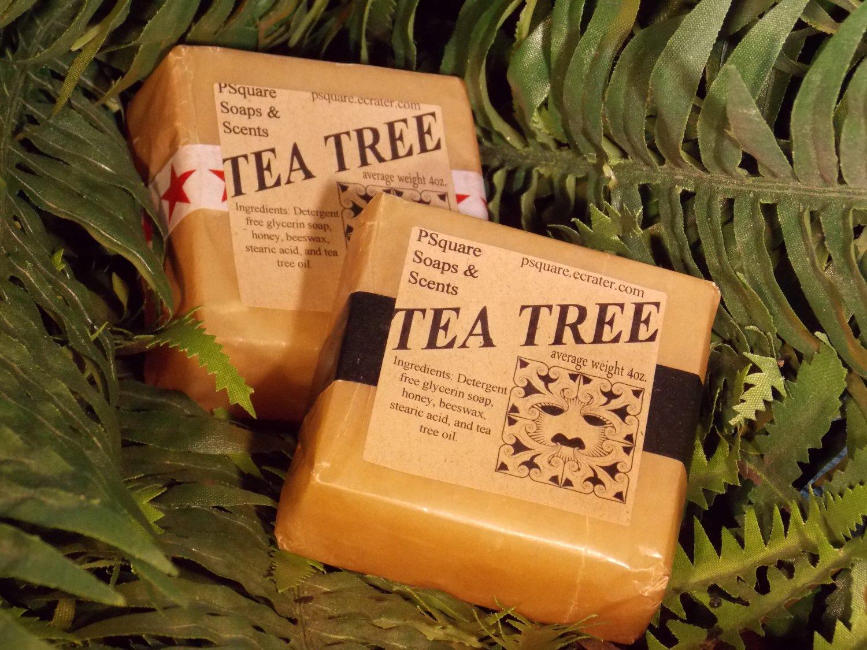 TEA TREE - Glycerin Soap