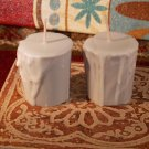 2 - VOTIVE CANDLES, Fresh, Clean, Scents, Paraffin/soy blend, Spring Rain, Bay Berry, Fresh Linen,