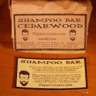 1 -CEDARWOOD SHAMPOO Cold Process Bar
