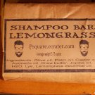 1 -LEMONGRASS SHAMPOO Cold Process Bar
