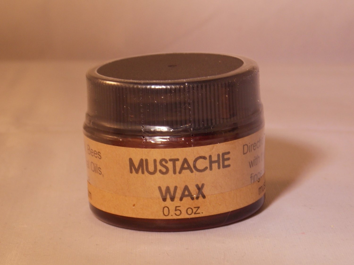 MUSTACHE WAX, Minty Bay Rum, Men's Skin Care, Shaving, Grooming, Personal Care, mustache tamer