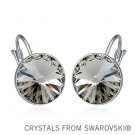 summer style! 6 stone colors crystal drop earrings Made with SWAROVSKI ELEMENTS