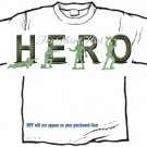 T-Shirt, Your Name in ARMY MEN, hero (Adult xxLg)