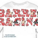 T-Shirt, Your Name in BARREL RACING, horses, (Adult 4xLg - 5xLg)