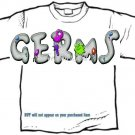 T-Shirt, Your NAME in GERMS, eeeewww - ( youth & Adult Sm - xLg)