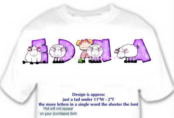 T-shirt , Counting SHEEP, baaaaaa, - (Adult 4xLg - 5xLg)