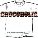 T-shirt, Your Name in CHOCOLATE - chocoholic - (youth & Adult Sm - xLg)