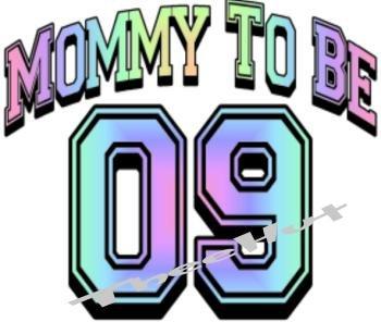 MOMMY TO BE 11  -- MATERNITY shirt, (2xLarge or 3xLarge)