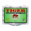 Tiger Laminated Tips, Medium, Box of 15, 14mm