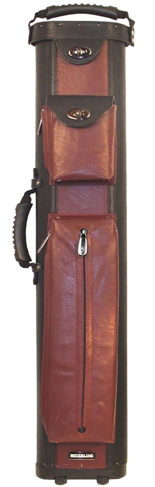 Ultra-Leather 4x8 BlackWine Rolling Case