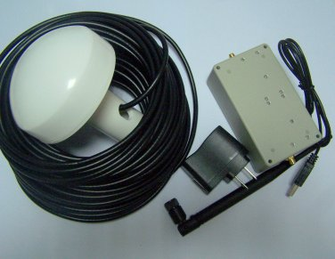 GPS Signal Repeater amplifier Transfer Full repeater system Kit 30 Meter Cable