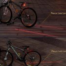 flash mode (5LED+2Laser) Bicycle Rear Lamp, waterproof Bike Laser Tail Light Warning Lamp