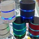 Mini Bluetooth Speaker Speakers Hi Fi Music Player With Three Rings of Light Micro