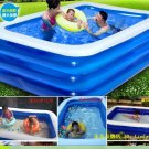 Large swimming pool thickening inflatable Big swimming pool size 262/172/60