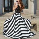 Women Boho Long Maxi Party Chiffon Sleeveless Dresses