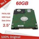 "New 2.5"" HDD 60GB Internal Hard Disk Drive laptop notebook"