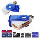 USB 2.0 TF Micro SD U-FLASH MEMORY CARD READER STICK