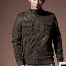 Geniune Cow Hide made Leather Outwear Jacket