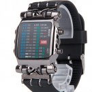Men Matrix Super 21 Colours LED Digital Binary Wristwatches