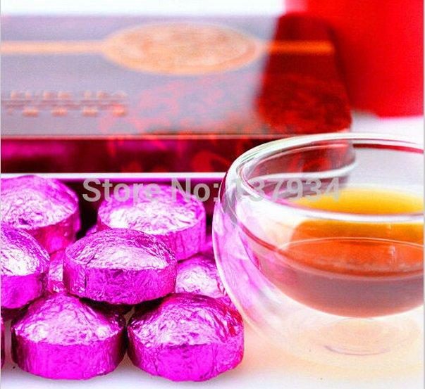 New Black tea Lotus leaf Pu'er,Ripe Puer Tea Slimming Tea