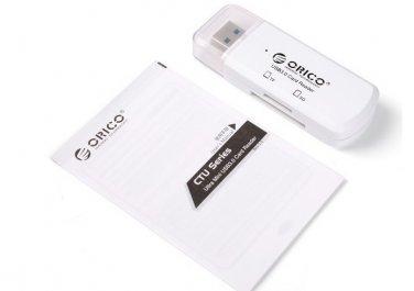 USB3.0 Reader Dual USB CardReader support SD/TF micro sd card reader