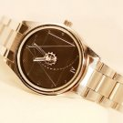 Crystal Gold Dial Bracelet Quartz Wrist Watch Christmas Gift