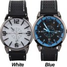 Men Watch 2015 Quartz Watch with Rubber Strap Band Wrist Watches