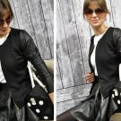 Colors Fashion New Slim Ladies Women Suit Coat Jacket Zip Blazer large size
