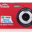 "New 1280 * 720 HD Mini Digital Camera 18MP 2.7"" TFT 8x Zoom Camcorder"