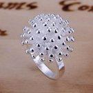 flower 925 silver jewelry Women female wedding rings